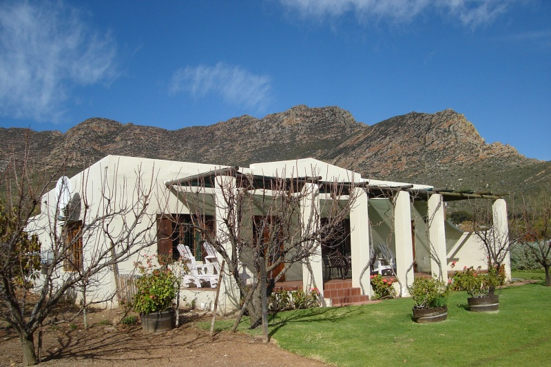 The Barn Self Catering Accommodation Montagu Back View