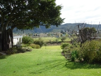 View of Montagu from The Barn garden.