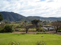 View of Montagu from back patio.