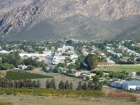 View of Montagu in the Western Cape